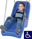 Swingset Parts :: Home and Residential ADA Special Needs Molded Playground Swing Seat